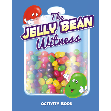 Jelly Bean Prayer Witness Coloring Activity Book
