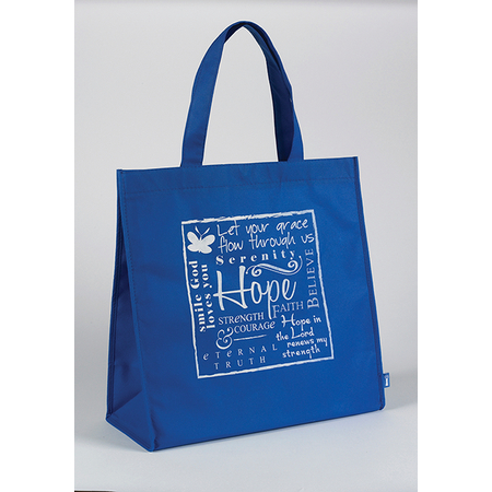 Christian shopping tote bag