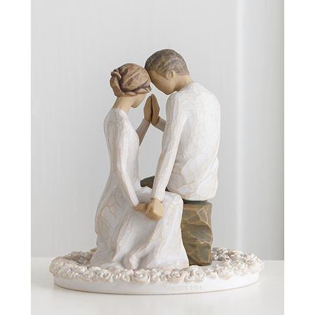 Willow Tree Wedding Cake Topper