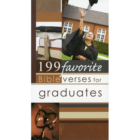 199 Scripture quotes for graduates book
