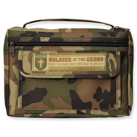 Camo Bible cover XL
