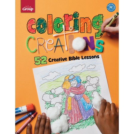 52 Bible Coloring Creations Activity Pages