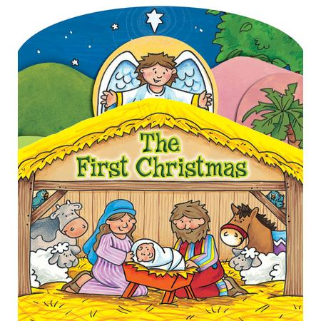 Christmas board book for toddlers