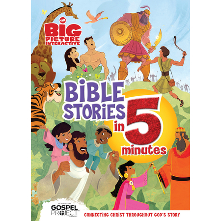 5 Minute Bible stories for kids
