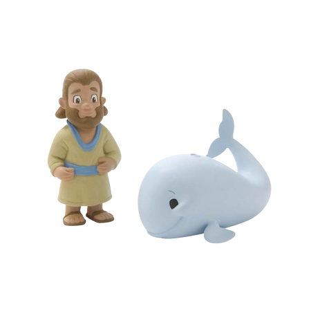 Jonah and the Whale Action figures toy