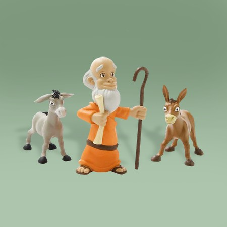 Noah figure set for children