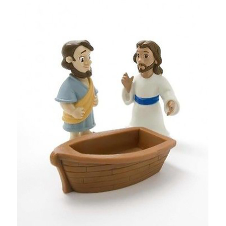 Jesus, Peter and Boat play set