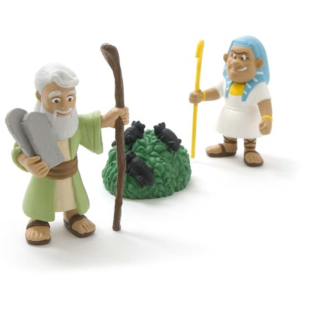 Moses and the Plagues play set