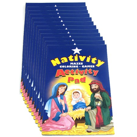 Christmas Nativity Activity Pads
