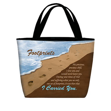Footprints in Sand purse