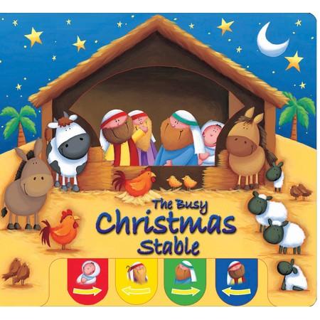 Christmas stable kids book