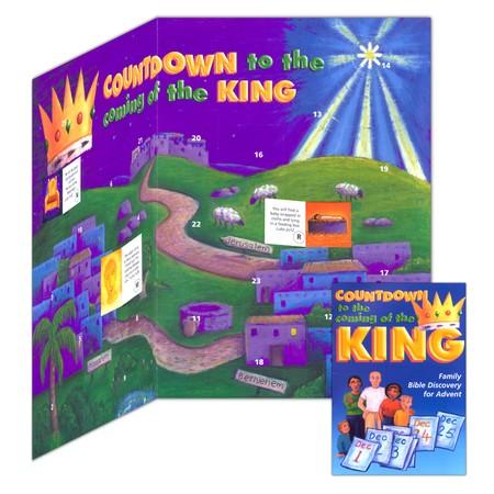 Jesus King is coming Advent Calendar Pack