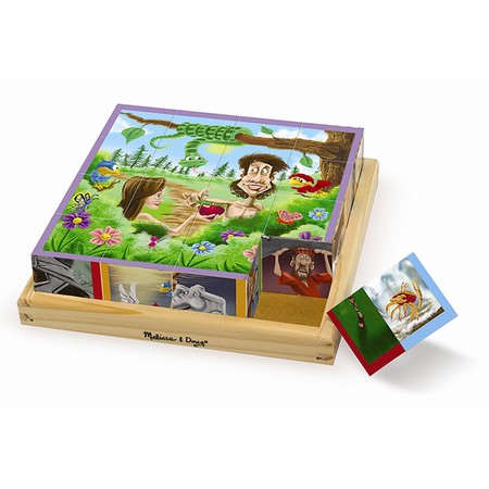 Old Testament chunky cube puzzle