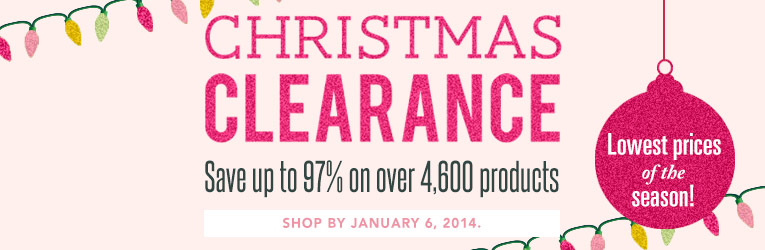 Christmas Clearance SALE