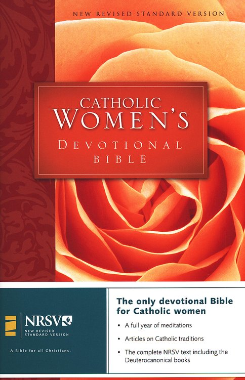 NRSV Catholic Women's Devotional Bible, Hardcover
