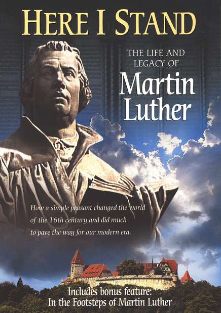 Here I Stand: The Life and Legacy of Martin Luther, DVD