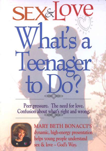 Sex & Love: What's A Teenager to Do?, DVD