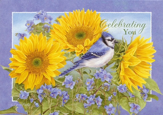 God's Serenity Birthday Cards, Box of 12
