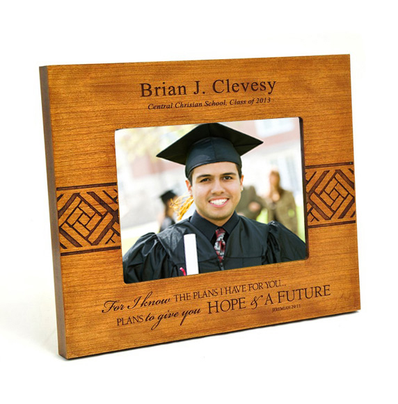 Personalized, For I Know the Plans, Graduation Photo