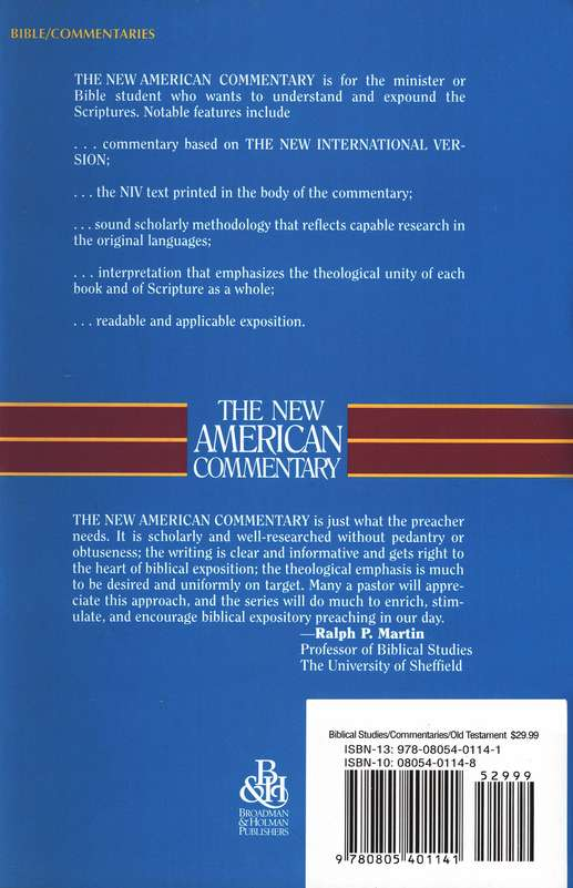 Proverbs, Ecclesiastes, & Song of Songs: New American Commentary [NAC]