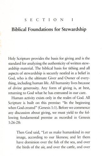 The Star Book for Stewardship