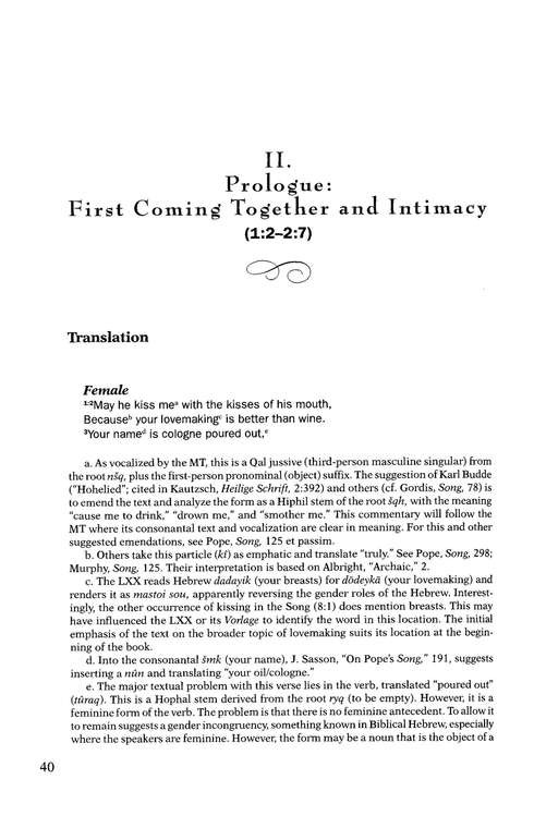 Song of Songs: Baker Commentary on the Old Testament Wisdom & Psalms [BCOT]