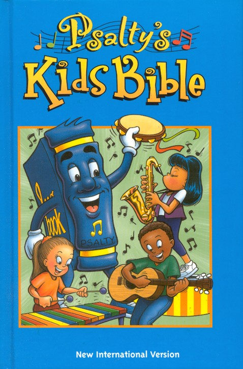 Psalty's Kids Bible Revised Hardcover 1984