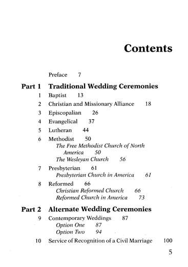 Baker's Wedding Handbook