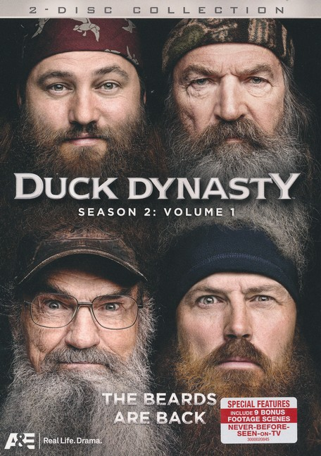 Duck Dynasty Season 2, 2 DVD'S