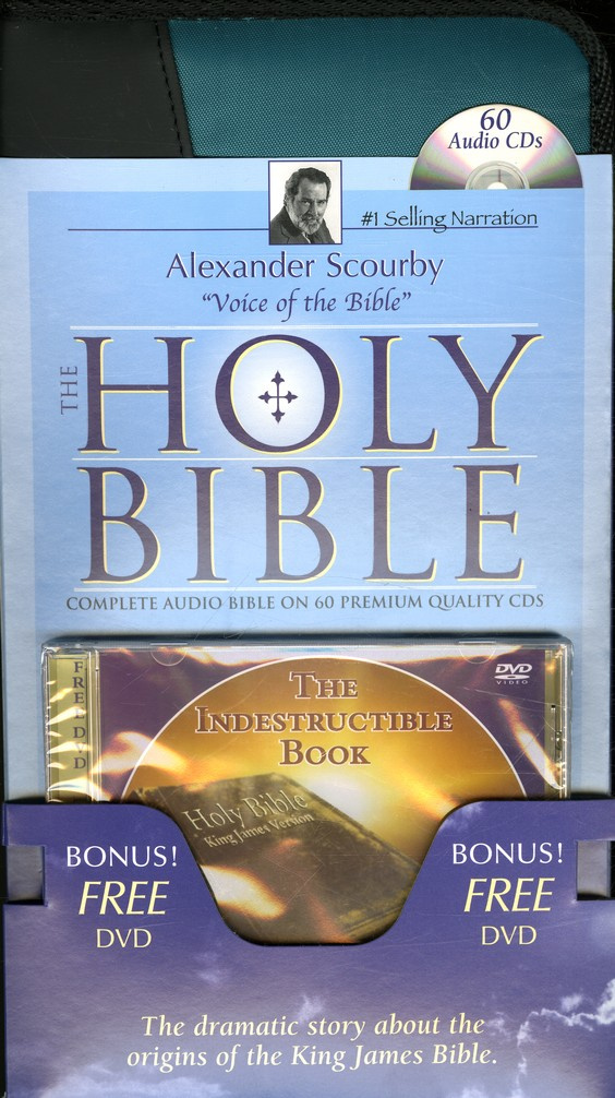The KJV Complete Bible on CD with FREE DVD