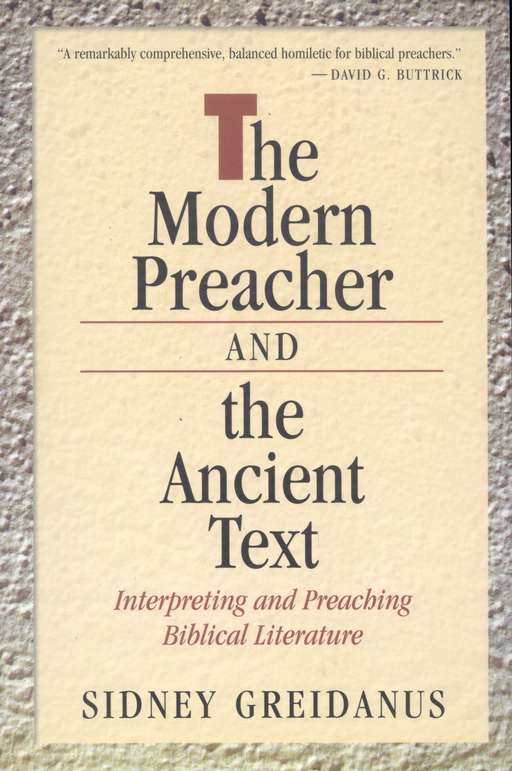 Modern Preacher and the Ancient Text