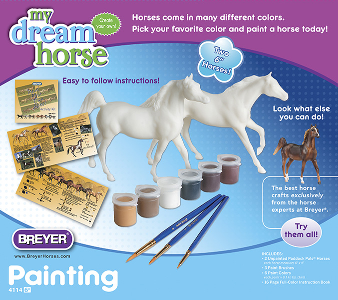 Paint Your Own Horse Activity Kit