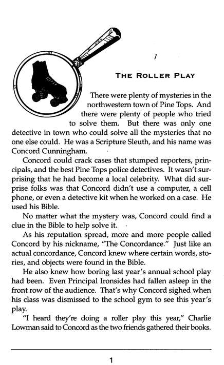 Concord Cunningham Returns: The Scripture Sleuth #2