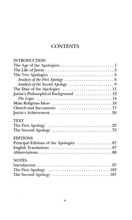 The First and Second Apologies (Ancient Christian Writers)
