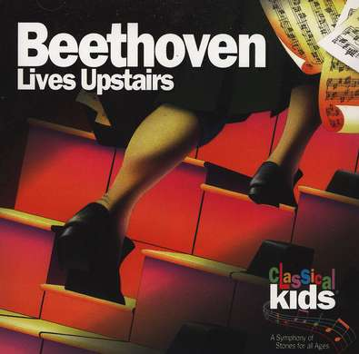 Beethoven Lives Upstairs         - Audiobook on CD