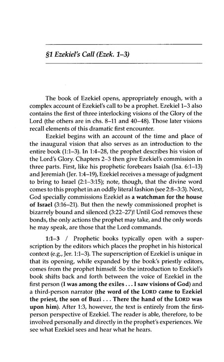 Ezekiel: Understanding the Bible Commentary Series