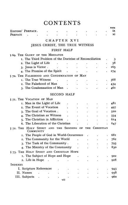 Church Dogmatics IV.3ii The Doctrine of Reconciliation Jesus Christ, the True Witness