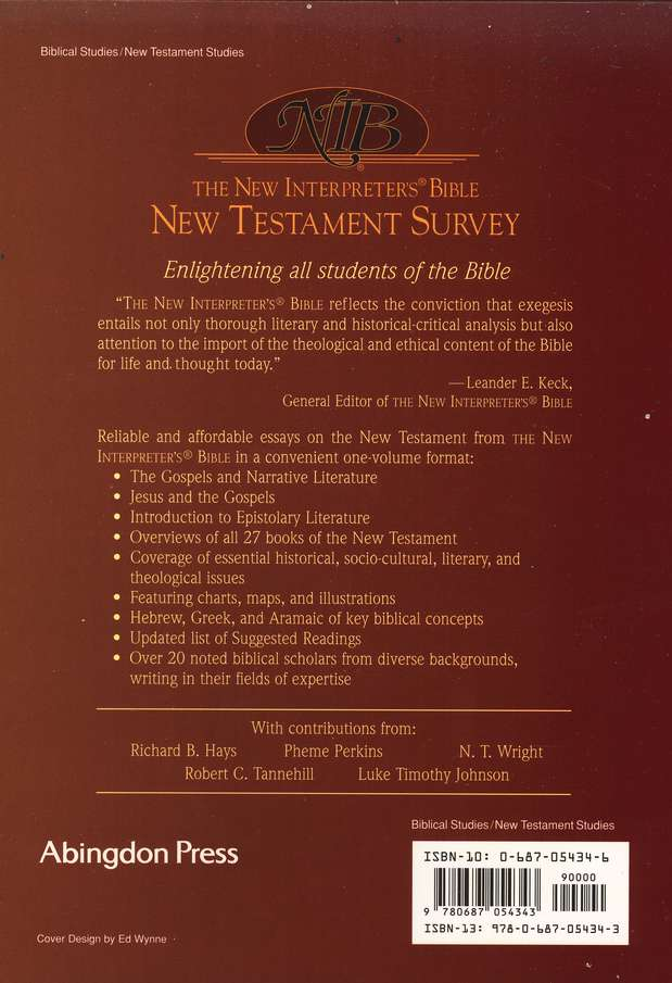 The New Interpreter's Bible New Testament Survey