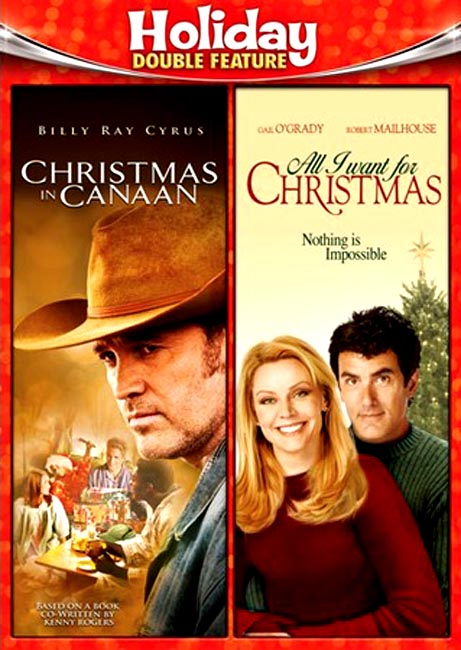 Christmas In Canaan/All I Want For Christmas, Double Feature DVD