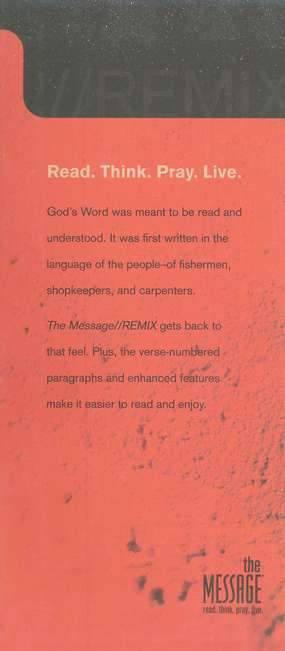 Message REMIX 2.0, Hardcover