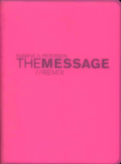 Message Remix 2.0 Hypercolor vinyl: Pink