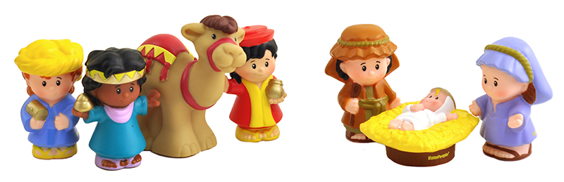 Little People Nativity play Set