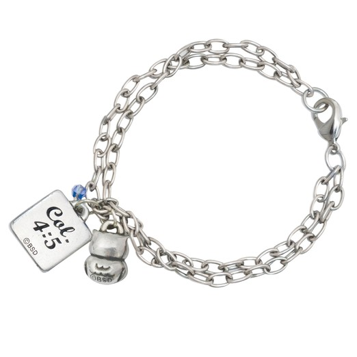Be Wise Owl Bracelet, Colossians 4:5