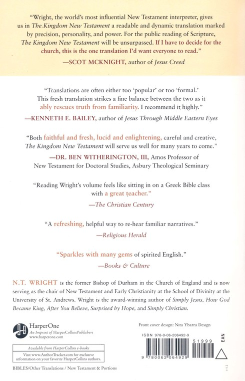 The Kingdom New Testament: A Contemporary Translation