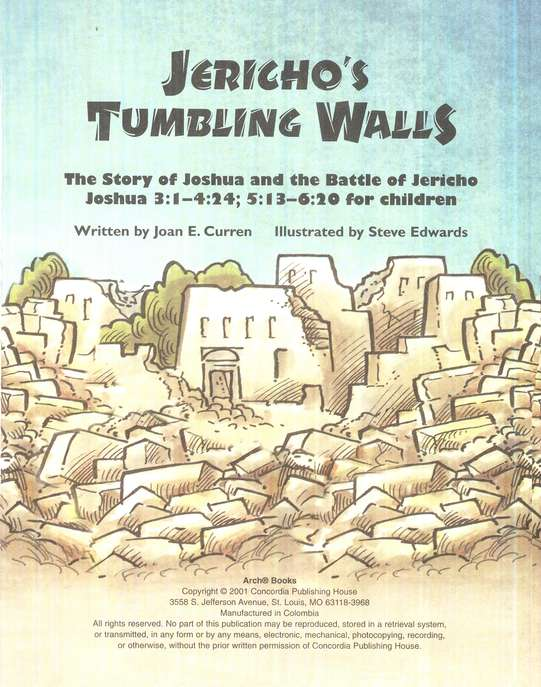 Jericho's Tumbling Walls, Arch Book Series