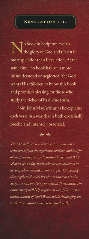 Revelation 1-11: The MacArthur New Testament Commentary