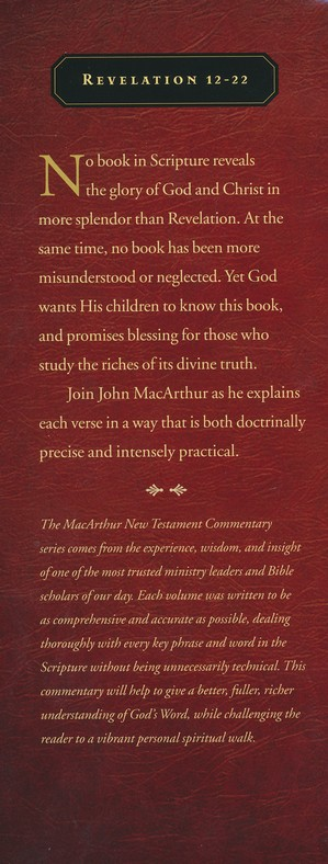 Revelation 12-22: The MacArthur New Testament Commentary