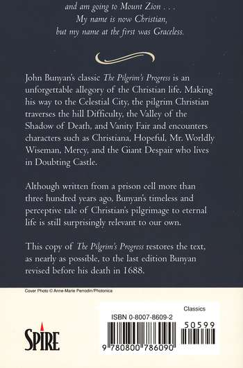 Pilgrim's Progress: One Man's Search for Eternal Life -A Christian Allegory
