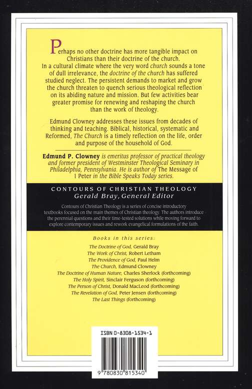 The Church: Contours of Christian Theology