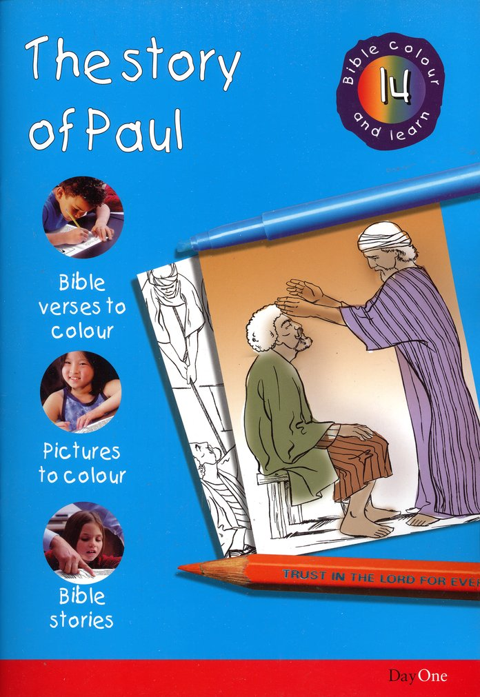Bible Colour and Learn #14: The Story of Paul